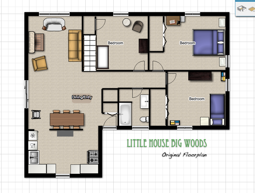 floorplan little house big woods